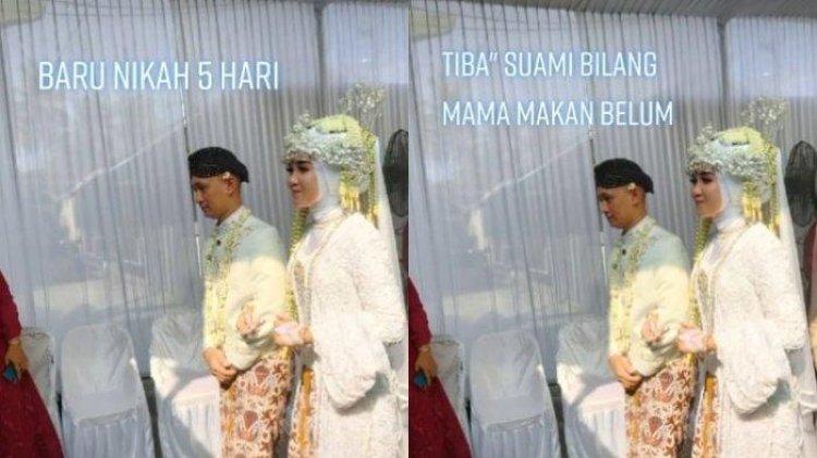 Pengantin Baru Ini Bingung Dipanggil 'Mama' oleh Suami: Mama Siapa?