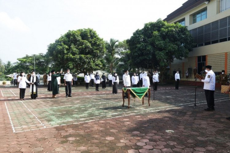 20 Pejabat Dinas Kesehatan Mundur, Gubernur Banten Lantik yang Baru