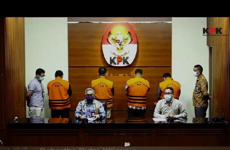 KPK Tetapkan & Tahan 4 Mantan Anggota DPRD Jambi Tersangka Suap Ketok Palu