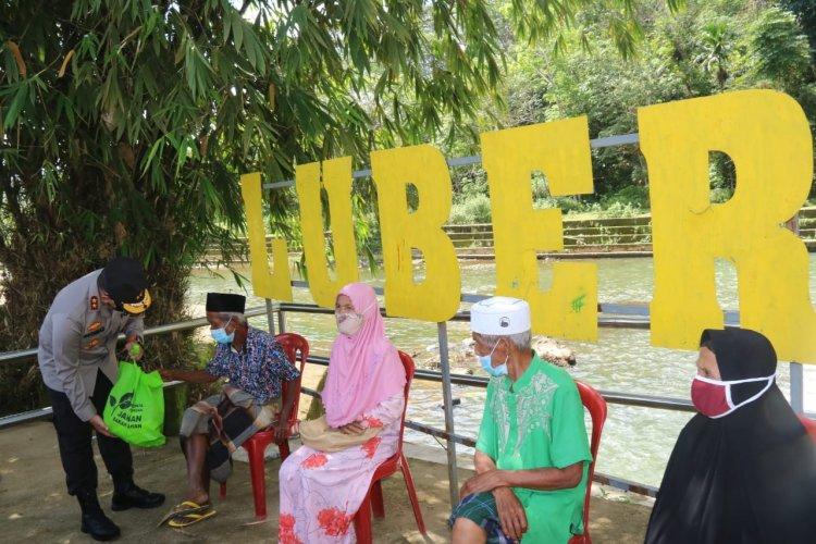 Begini Perjalanan Kapolda Jambi ke Kampung SAD dan Wisata Lubuk Beringin, Bungo: Berharap Masyarakat Patuhi Prokes