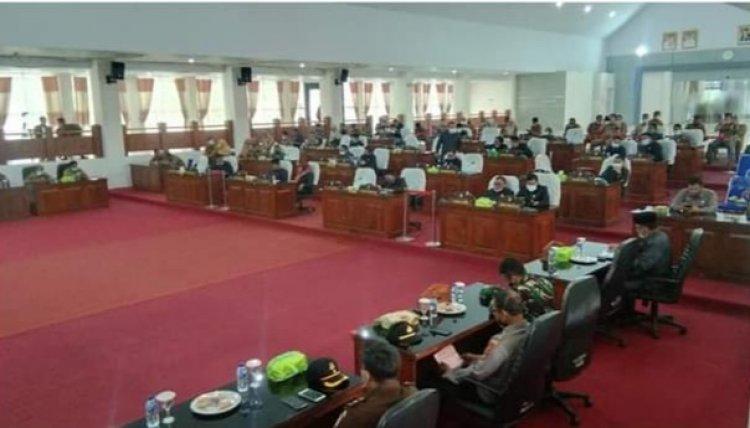 Paripurna DPRD Merangin, Wabup Mashuri Diprotes Anggota Dewan