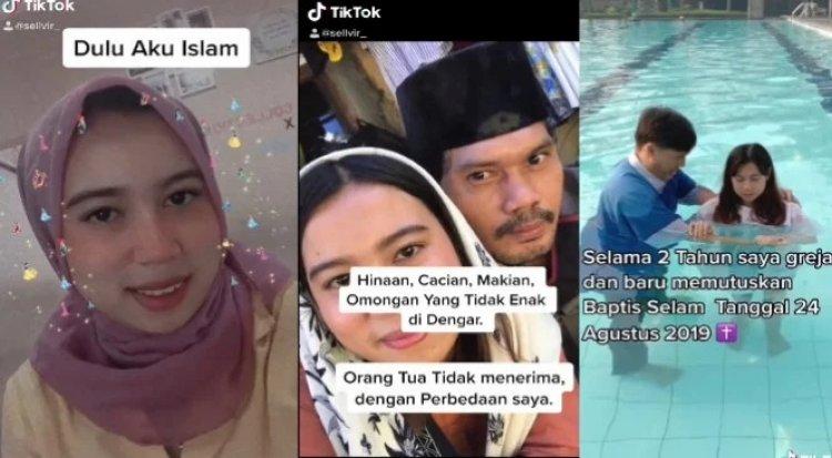 Viral di Media Sosial Video Wanita Ngaku Dulu Islam, Kini Kristen