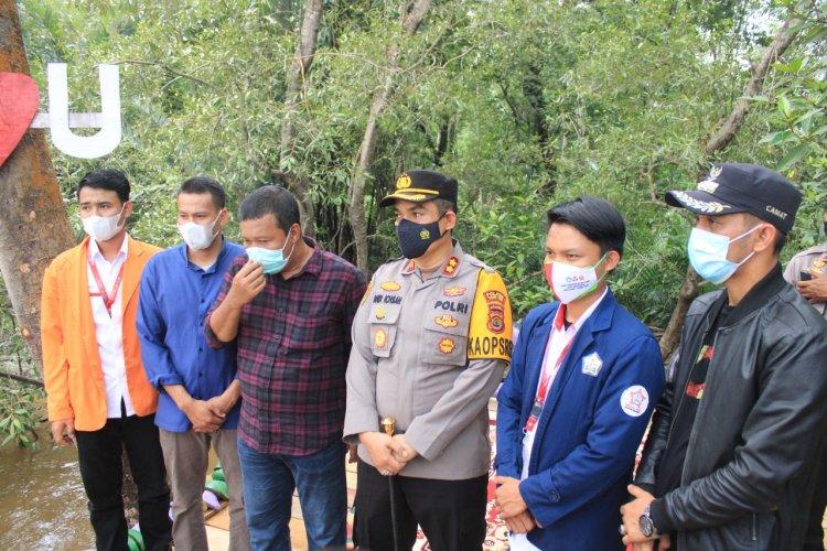Posko 22 KKN Kebangsaan Serahkan Ekowisata Mangrove ke Pemkab Tanjabtim, Bupati Romi; Kami Teruskan....