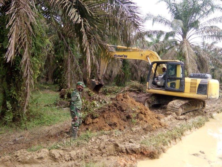 Pantau Pra TMMD ke-112 di Tebo-Jambi, Komandan SSK: Selain Jalan, Rehab Masjid Hingga MCK Dilakukan