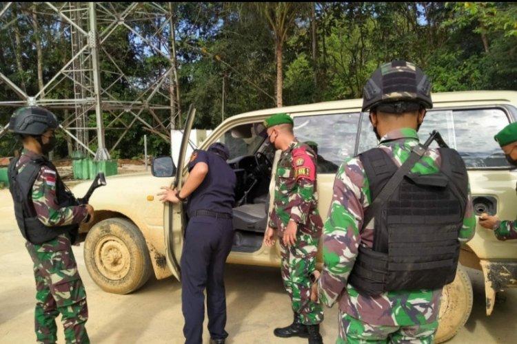 Begini Aksi Kejar-kejaran Satgas Pamtas gagalkan Penyelundupan Mobil Land Cruiser VX 80 asal Malaysia