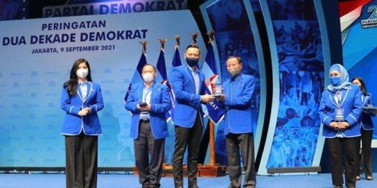 SBY dan Ani Yudhoyono Dapat Penghargaan dari Demokrat, AHY: Berjasa dan Dedikasi Senior dan Kader Terbaik