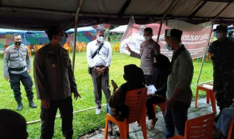 Gelar Vaksinasi Massal Bersama Polres Bungo-Jambi dan Kodim Bute, HMI: Menuju Pemulihan Negeri Ini dari Covid-19