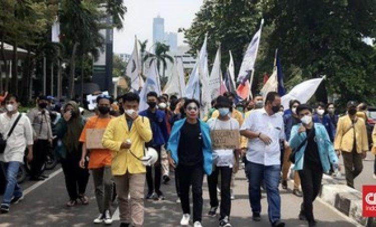 Demo Bersama BEM SI di KPK, BEM Unsri: Kami Mau Bawa Pulang Firli, Pecat, pecat, pecat pak Firli
