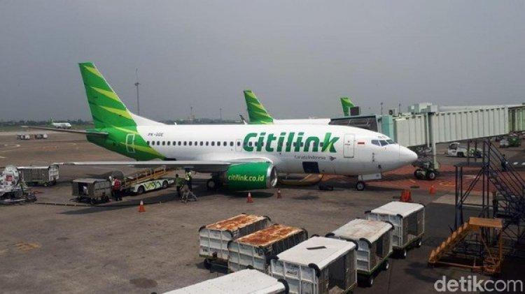Heboh! Pesawat Citilink QG 944 Jakarta-Batam Mendarat Darurat di Palembang