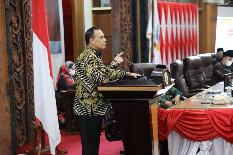 Ingatkan DPRD Jambi, Ketua KPK Firli: Ada Masalah Korupsi, Saya Tangkap Kalian