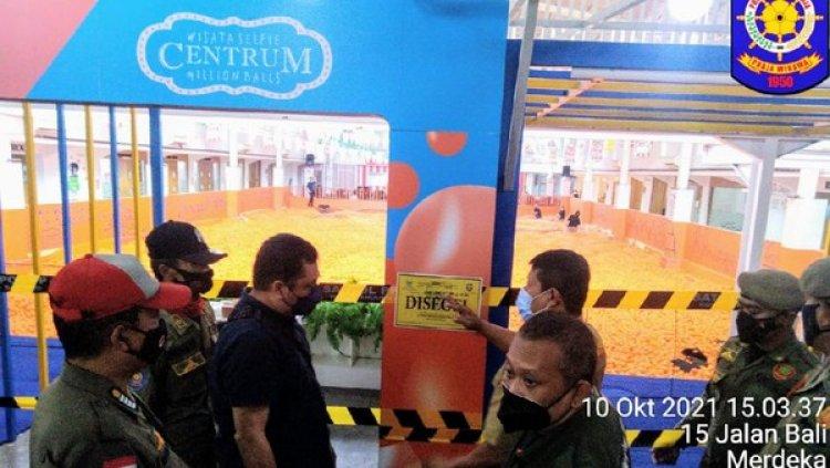 Arena Bermain di Bandung Disegel Satpol PP, Melanggar Aturan dan Timbulkan Kerumunan
