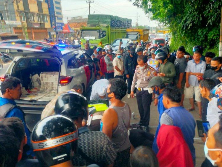 Dilindas Truk, Mahasiswi Asal Merangin Ini Tewas di Jaluko Muarojambi