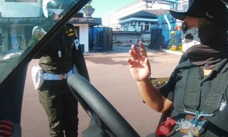Kendarai Mobil Rantis TNI, Youtuber Terkenal Dihentikan Polisi Militer AD: Deg-degan Gitu Lho Rasanya