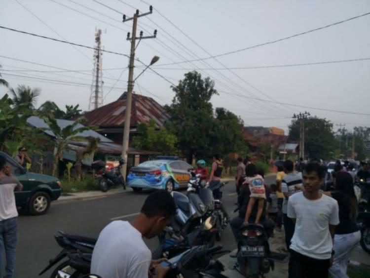 Ternyata Terduga Teroris yang Ditangkap di Bungo Diduga Teman Pembakar Mapolres Dharmasraya