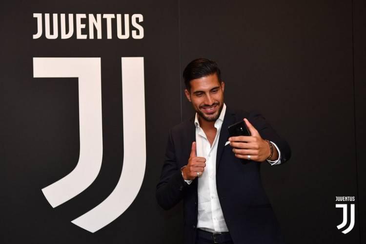 Emre Can Resmi Gabung Juventus