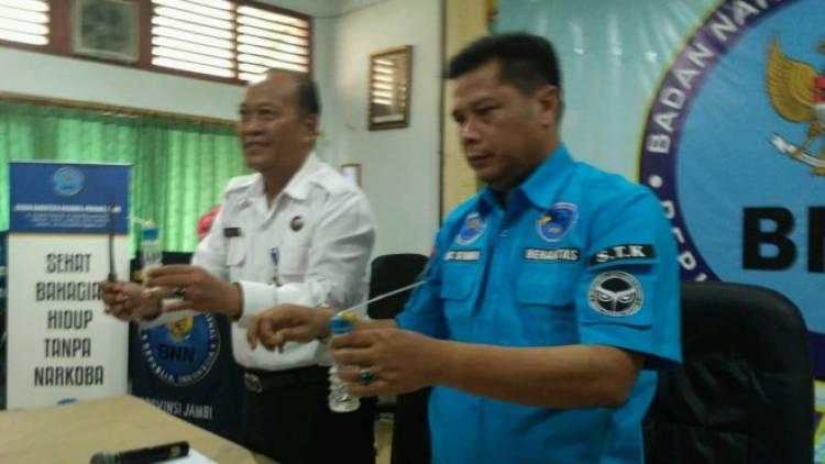 Pengedar Narkotika Tewas Ditembak Oleh Petugas BNNP Jambi