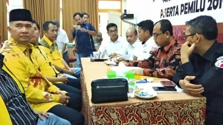 Golkar Resmi Daftarkan Bacalegnya ke KPU Provinsi Jambi