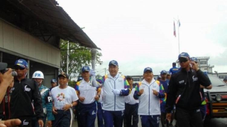 Masyarakat Sorong sambut Kirab Obor Asian Games