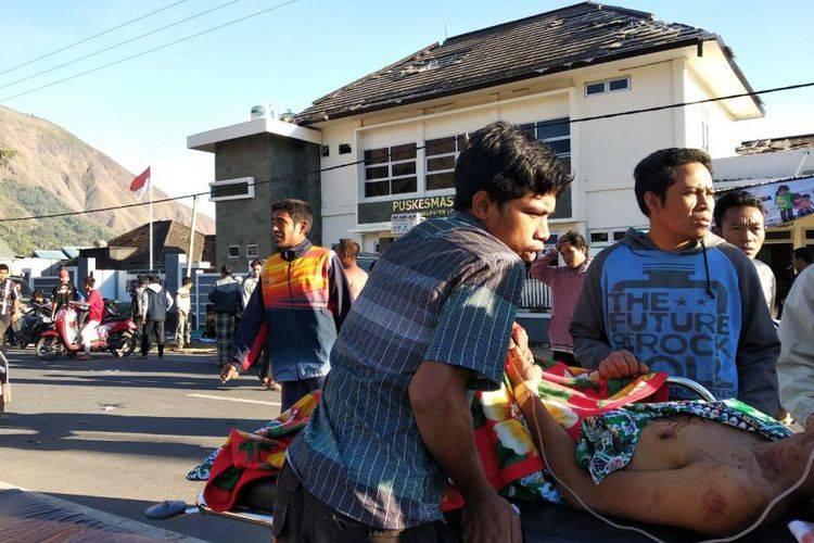Ini Jumlah Korban Gempa di Lombok dan Sumbawa