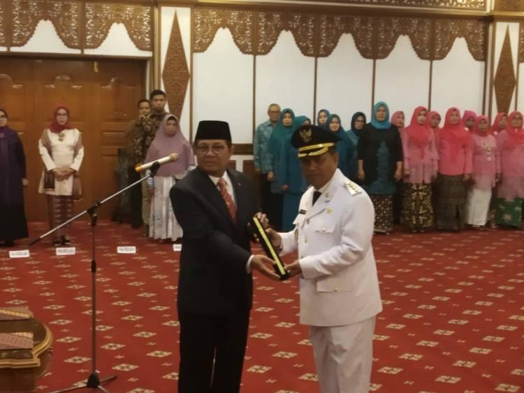 Fachrori Umar Lantik Asisten I Provinsi Jambi Apani jadi Pj Bupati Merangin