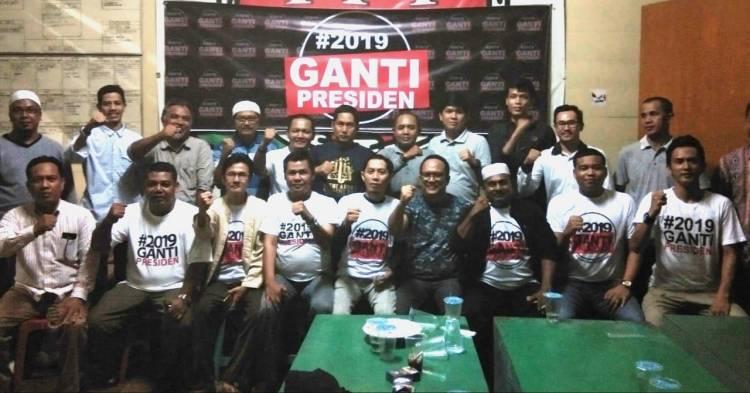 Meski Ditolak, Deklarasi #2019GantiPresiden di Jambi Tetap Digelar
