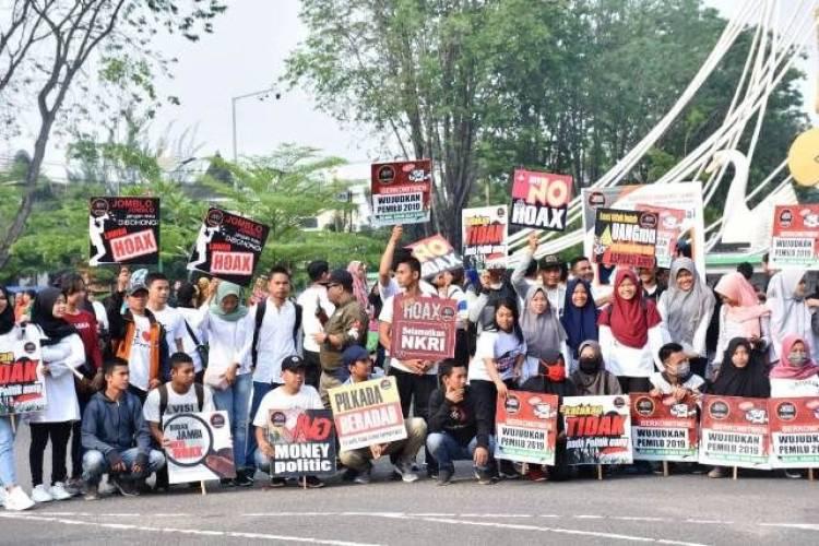 Masyarakat Jambi Janjikan Pileg dan Pilpres 2019 Berjalan Damai