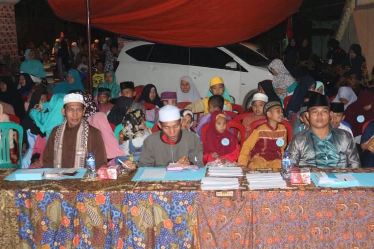 Mahasiswa Kukerta UIN STS Jambi Gelar Gebyar Muharram di Sarolangun