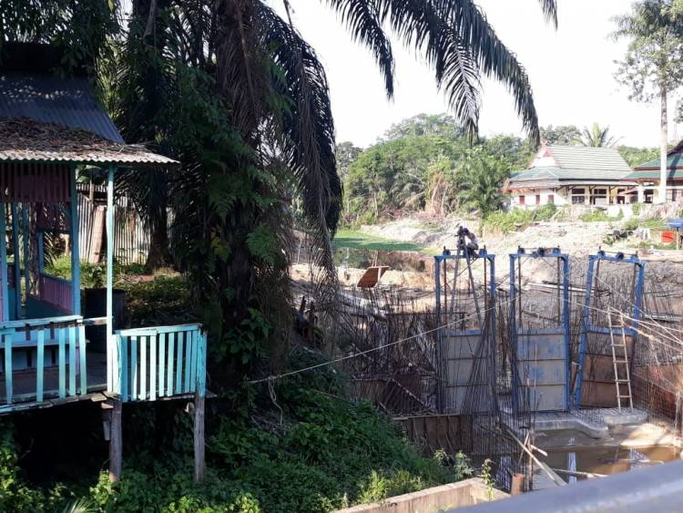 TP4D Batanghari Diminta Pantau dan Awasi Pekerjaan Pintu Air Rengas Condong Batanghari