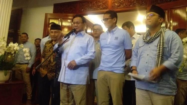 Setelah Berbesar Hati Sampaikan Permohonan Maaf, Prabowo Ungkap Hal Ini