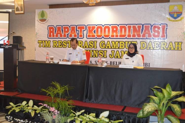 DLH Provinsi Jambi Kejar Tayang Pemulihan Lahan Gambut yang Habis Terbakar 2015