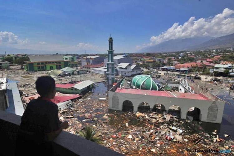 Setelah Gempa dan Tsunami, Sebagian Pemukiman Palu Direndam Banjir