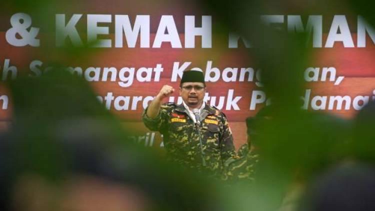 Bukan Pembakaran Bendera Tauhid, GP Ansor Minta Maaf Atas Kegaduhan