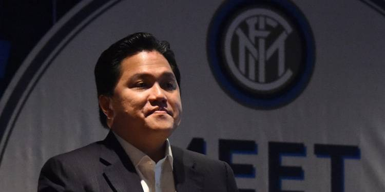 Fokus Memenangkan Jokowi-Ma'ruf, Erick Thohir Tanggalkan Jabatan Presiden Inter Milan