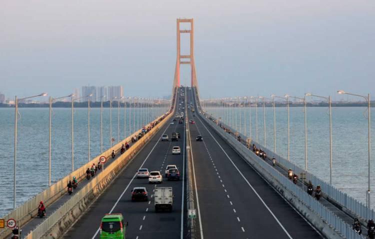 Jokowi Bantah Tol Gratis Jembatan Suramadu untuk Kepentingan Politik