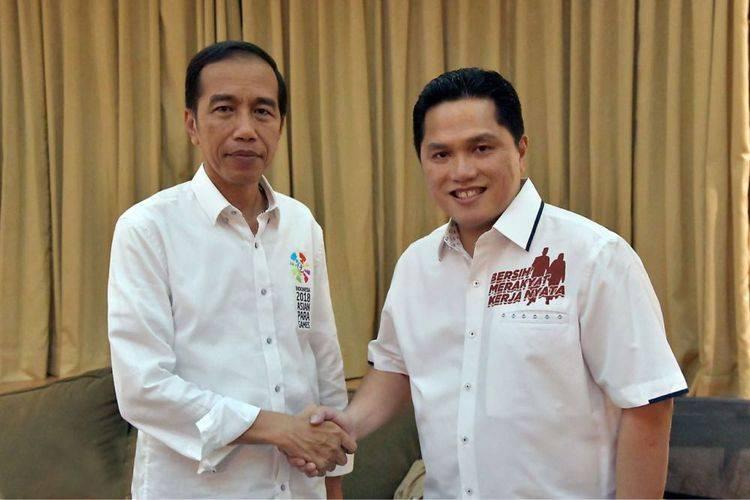 Erick Thohir: Posisi Jokowi Sebagai Presiden & Capres Jangan Digoreng-goreng