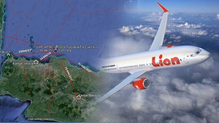 Komite Nasional Keselamatan Transportasi Jelaskan Dugaan Lion Air JT 610 Jatuh