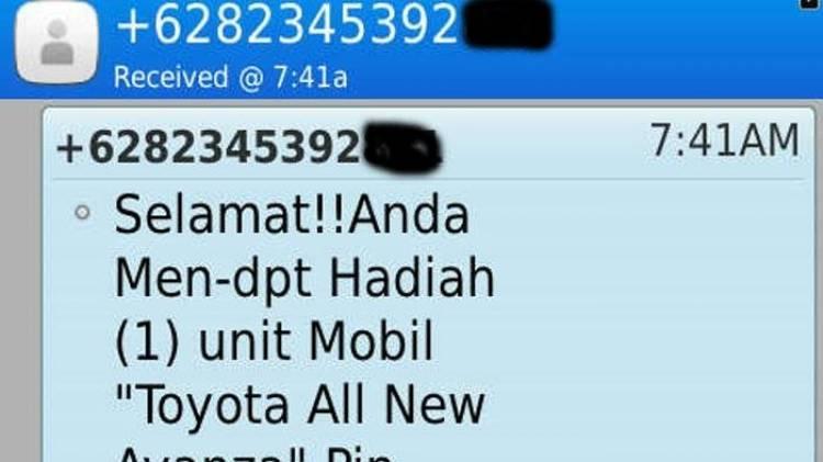 Sering Terima SMS Penipuan? Ini Cara Mengatasinya