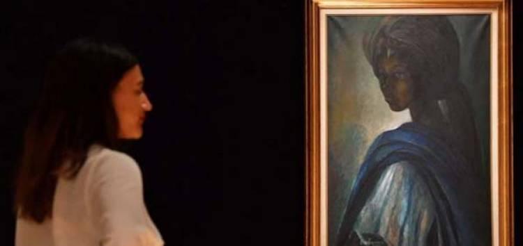 """Mona Lisa"" Nigeria Dipamerkan di Kampung Halaman"