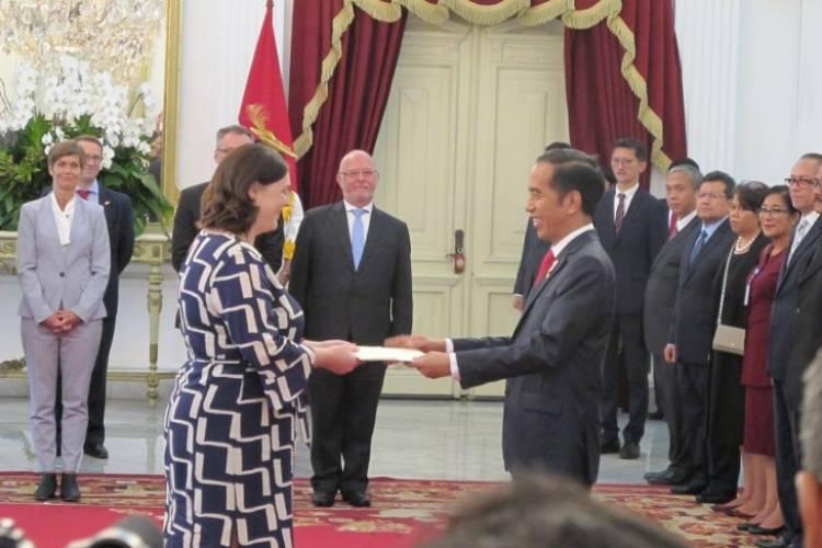 Jokowi Terima Surat Kepercayaan Dubes 13 Negara