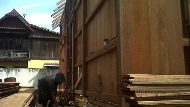 Mengintip Usaha Rumah Bongkar Pasang di Palembang Eksis