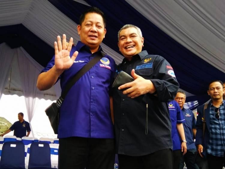 HUT NasDem ke 7, Agus Roni Targetkan 2 Kursi DPR RI dari Jambi