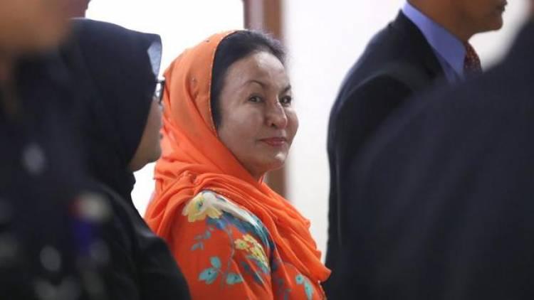 Istri Mantan Perdana Menteri Malaysia Najib Razak Didakwa