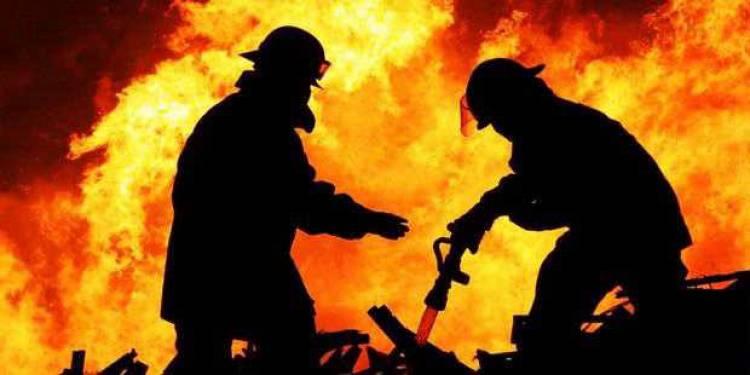 Api Membara di Tanjung Kasri Merangin Dua Rumah Warga Hangus Terbakar