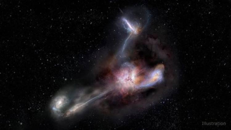Galaksi Kanibal Ditemukan, Bisakah Bumi Terancam?