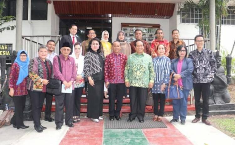 Kunker ke Papua Nugini, Ihsan Yunus: Indonesia Harus Jalin Kerjasama yang Lebih Strategis