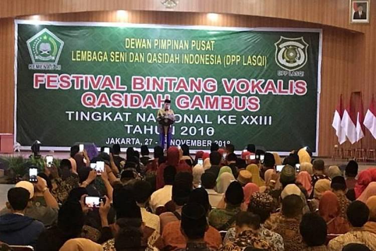 Saat Jokowi Bersenandung Lagu Din Assalam Ala Nisa Sabyan