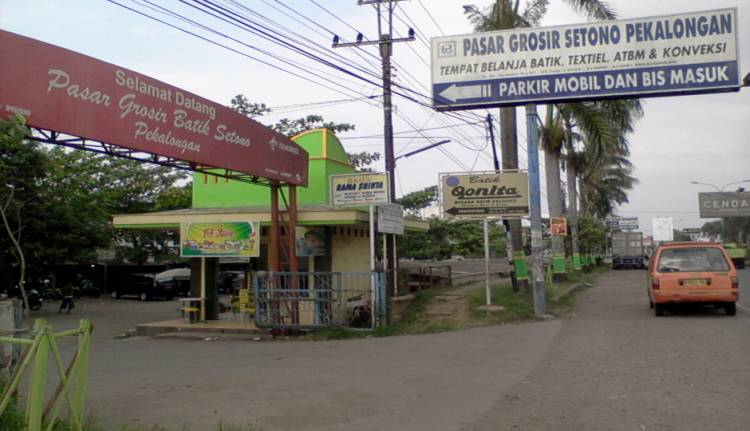 Penjualan Batik di Grosir Setono Pekalongan Anjlok