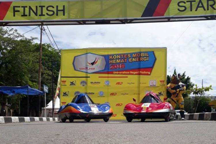Wow! Mobil Urban Listrik UMM Pecahkan Rekor Asia