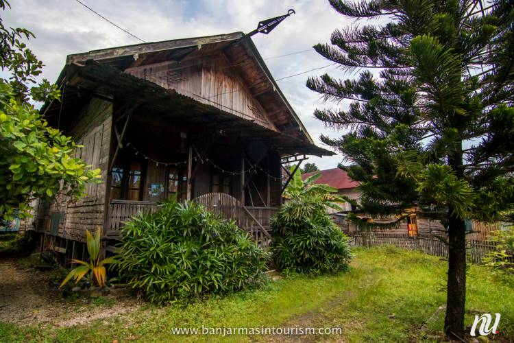Eloknya Sungai Jingah Kawasan Kampung Tua Banjar