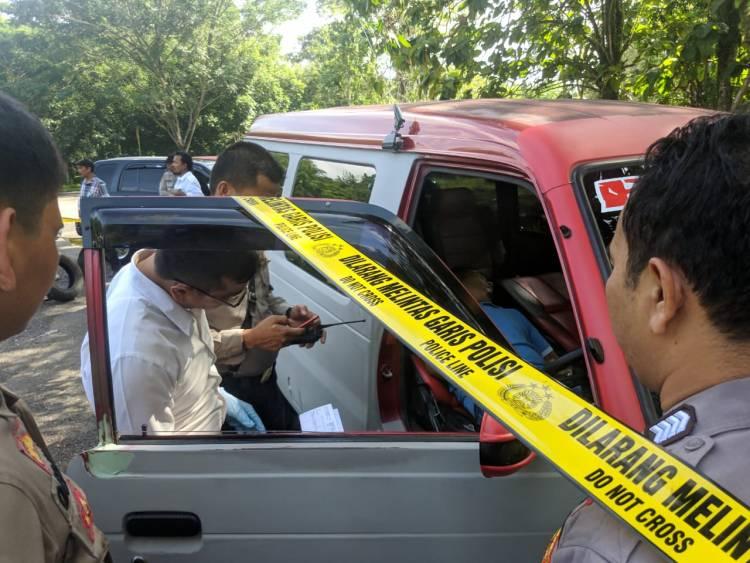 BREAKING NEWS!! Warga Bungo Ditemukan Tewas dalam Mobil Saat Bersama Janda